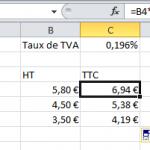 Optimisation taux de tva for Taux tva terrassement