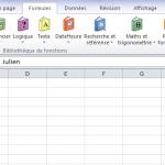 Gestionnaire de noms Excel