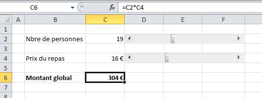 Cellule Excel à verrouiller