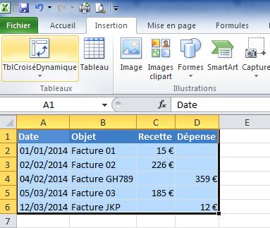 Excel Inserer Un Champ Calcule Dans Un Tableau Croise Dynamique