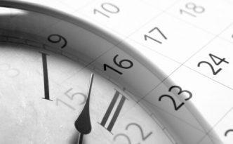 calendrier horloge